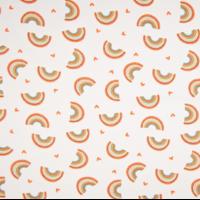 Jersey paillettes arc-en-ciel 20 x 140 cm