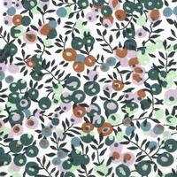 Liberty Organic Tana Lawn™ Wiltshire verveine coloris A 20 x 137 cm