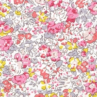 Liberty Organic Tana Lawn™ Claire Aude rose coloris A 20 x 137 cm