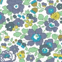 Liberty Organic Tana Lawn™ Betsy bruyère coloris C 20 x 137 cm