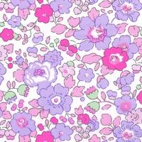 Liberty Tana Lawn™ Betsy neon purple coloris F 20 x 137 cm