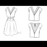 Patron robe / blouse Byzance