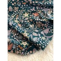 Popeline Liberty Crochet Meadow 20 x 145 cm