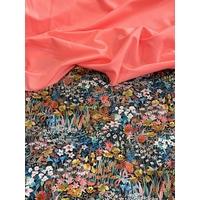 COUPON de lycra Liberty Faria Flowers 1m x 150 cm
