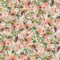 Tissu Rifle Paper Garden Party Petite Garden Rose 20 x 110 cm