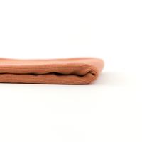 Bord-côte coloris brun pécan 20 x 110 cm