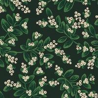 Tissu lin/coton Rifle Paper Holiday Classics Gui evergreen 20 x 110 cm