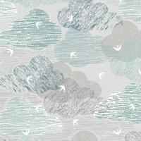 Tissu Elements nuages 20 x 110 cm