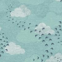 Tissu Elements Migration 20 x 110 cm
