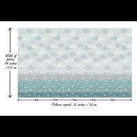 Tissu Elements frise 20 x 110 cm