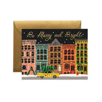 Carte double City Holiday avec enveloppe