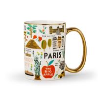 Mug en porcelaine Bon Voyage 470 ml