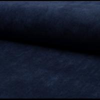 Velours milleraies stretch marine 20 x 140 cm