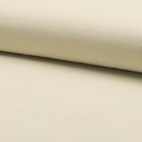 Velours milleraies 100% coton écru 20 x 140 cm