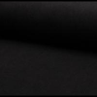 Velours milleraies 100% coton noir 20 x 140 cm