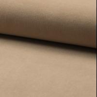 Velours milleraies 100% coton sable 20 x 140 cm