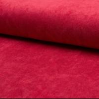 Velours milleraies stretch rouge 20 x 140 cm