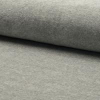 Jersey velours lisse (nicky) coloris gris chiné clair 20 x 140 cm