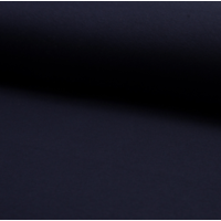 Molleton coloris marine 20 x 150 cm