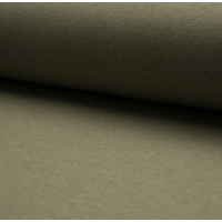 Molleton coloris kaki chiné 20 x 150 cm