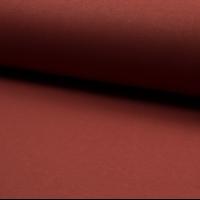 Molleton coloris rouille 20 x 150 cm