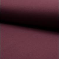 Molleton coloris bordeaux 20 x 150 cm