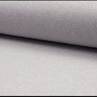 Bord côte pailleté gris clair et argent 20 x 65 cm