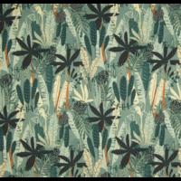Sweat léger organique jungle 20 x 140 cm