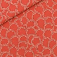 Viscose Basins coloris Rouge Burnt Sienna 20 x 140 cm