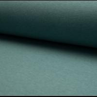 Molleton coloris dusty mint chiné 20 x 150 cm