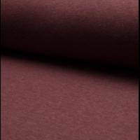 Molleton coloris bordeaux chiné 20 x 150 cm