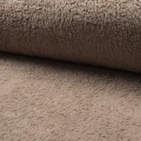 Teddy fausse fourrure coloris sable 20 x 150 cm