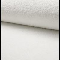 Teddy fausse fourrure coloris blanc 20 x 150 cm