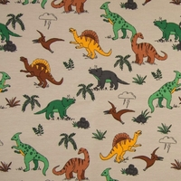 Sweat léger dinosaures 20 x 140 cm
