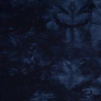 Sweat léger tie and dye coloris marine 20 x 140 cm