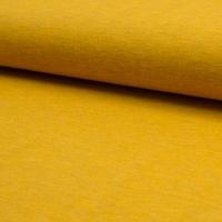 Jersey chiné ocre 20 x 140 cm