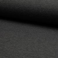Jersey chiné marine grisé 20 x 140 cm