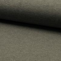 Molleton fin uni coloris gris chiné 20 x 150 cm