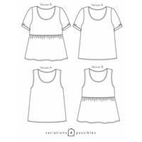 Patron blouse Aimée (34-52)