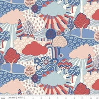 The Carnaby Collection - Tissu Sunny Afternoon coloris A 20 x 110 cm
