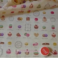 Tissu Yuwa Macarons 30x110 cm