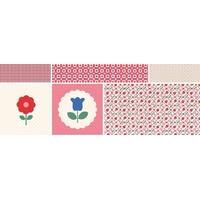 Panneau Sucrette Garden Fleur 50x140 cm