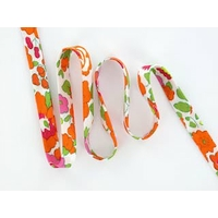 Biais Liberty Betsy Orange coloris Z 50cm