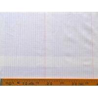 Tissu Cahier d'écolier 20x150 cm