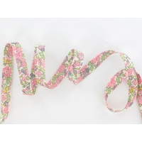 Biais Liberty Betsy Ann rose coloris C 50cm