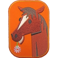 Thermocollant cheval