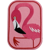 Thermocollant flamand rose