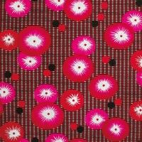 Tissu ENDUIT Coquelicot rouge 20x140 cm
