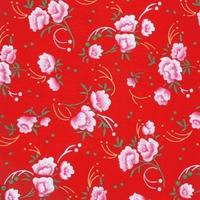 Coupon Petit Pan enduit Petit pivoine rouge 70 x 50 cm