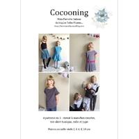 Patron Cocooning par Maïa Perrotte Salesse, du 2 au 10 ans